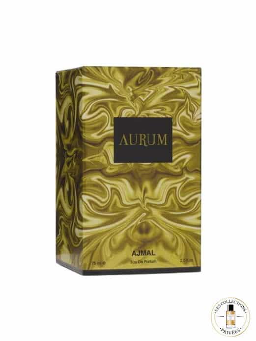 Aurum Coffret - Ajmal - Les Collections Privées