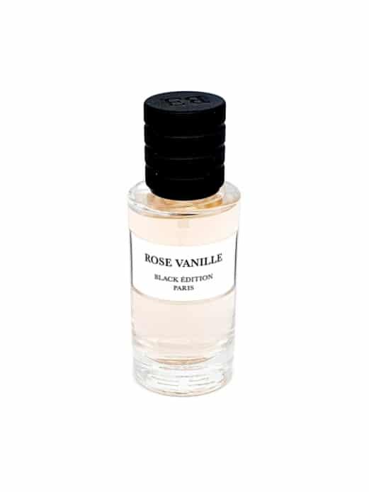 Rose Vanille - Black Edition - Les Collections Privées