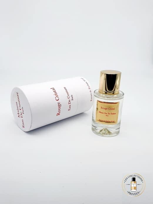Rouge Cristal Coffret - Maison Eau de Couture - Les Collections Privées